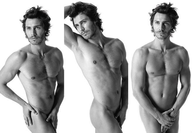 André Bankoff posou nu para as lentes do fotógrafo Fernando Torquatto. Foto: Fernando Torquatto