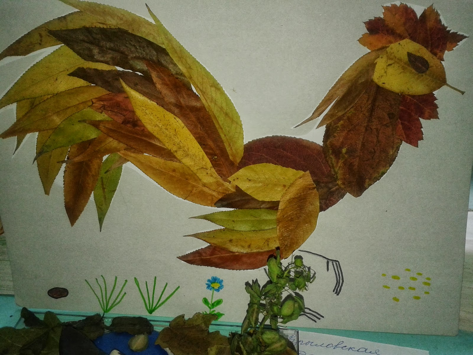 Осенние поделкиосенние поделки из природных материалов