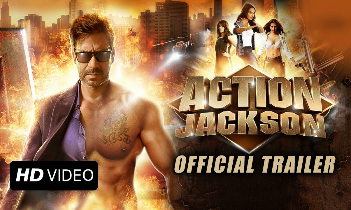 Ajay Devgan New Movie in Action Jackson Trailer