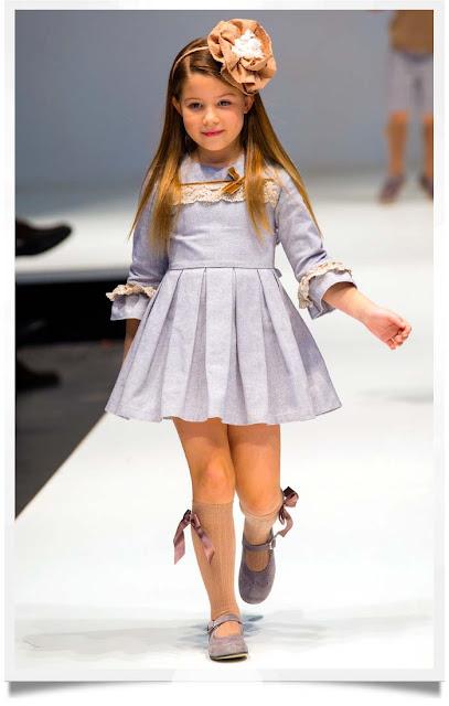 Chambray Dress | Tartaleta | Spanish Kids Fashion | Chichi Mary