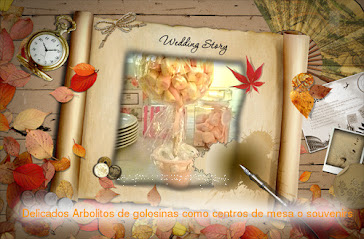 ARBOL DE GOLOSINAS Centros de mesa o souvenirs
