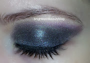 Eye Look inspired by Vesper Lynd in Casino Royale (one eye closed close up).