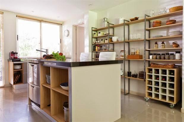 Estanter as para la cocina tendencia - Estanterias para la cocina ...