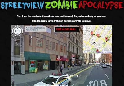 Streetview Zombie Apocalypse
