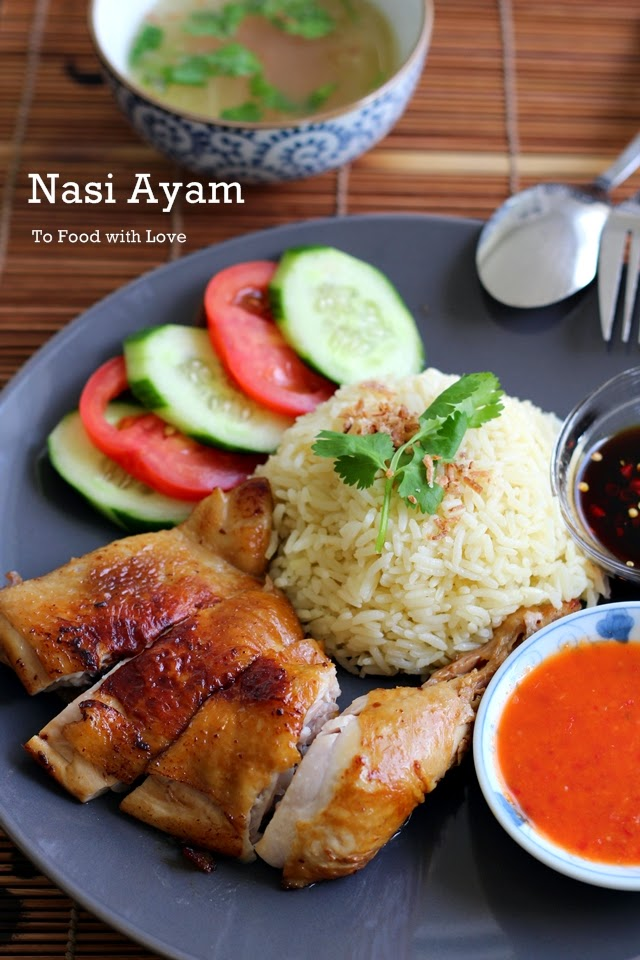Nasi Ayam (Chicken Rice)