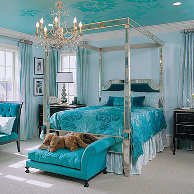 Teal Living Room Accessories on Turquoise Aqua Teal Bedroom Design Interior Design Interiors Decor Via