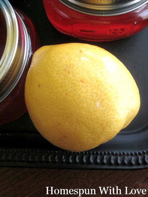 how to make lemon gel at home