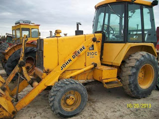 John Deere 210 tractor
