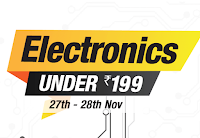 ( Amazon Apps Offer ) Get Amazon Electronics Sale For Rs 199 :buytoearn