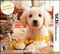[N3DS] Nintendogs + Cats : Golden Retriever and New Friends Multi 5 EUR