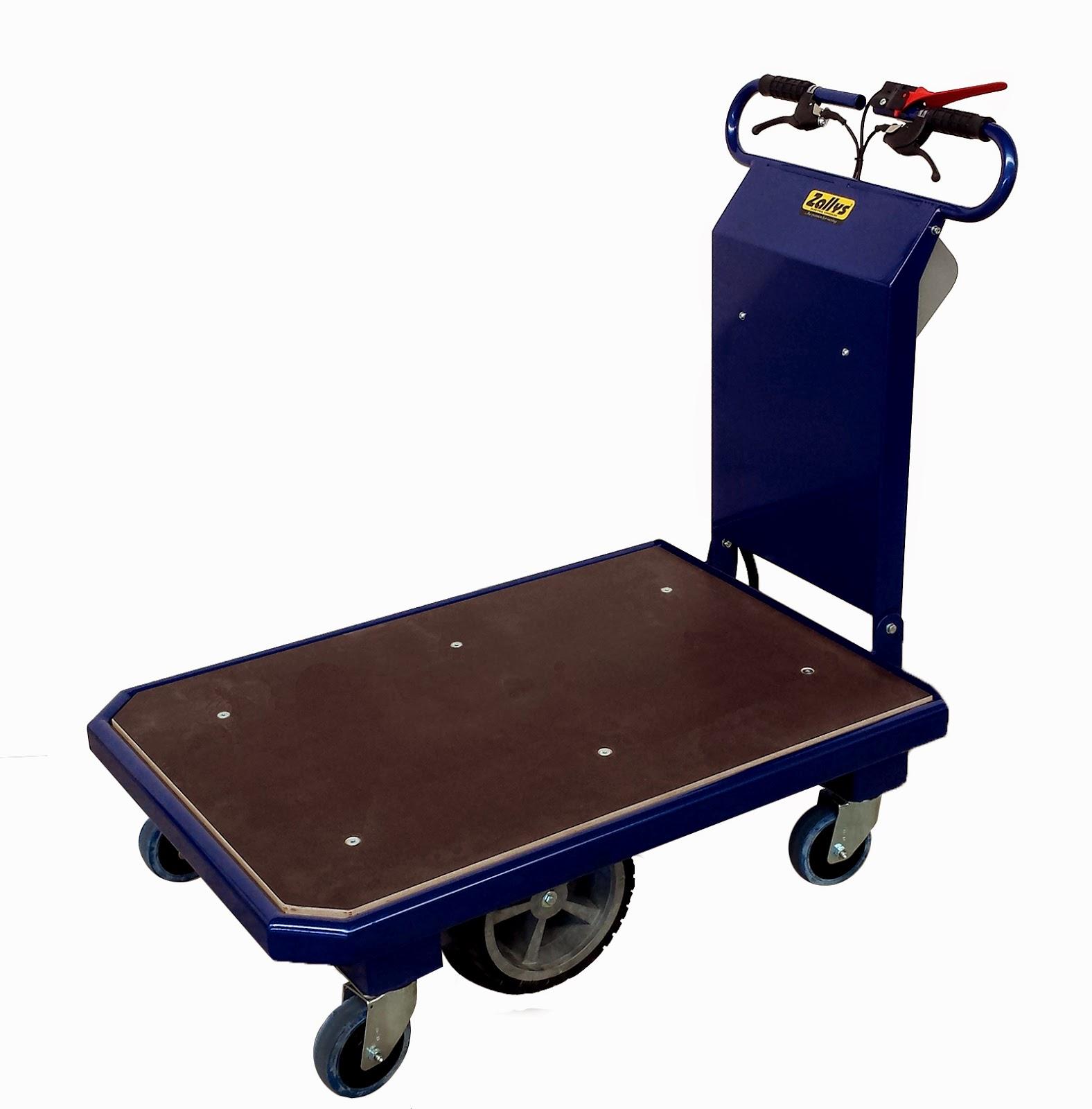 Motorized Cart Zallys M15 Electric Piowered Platform Trolley