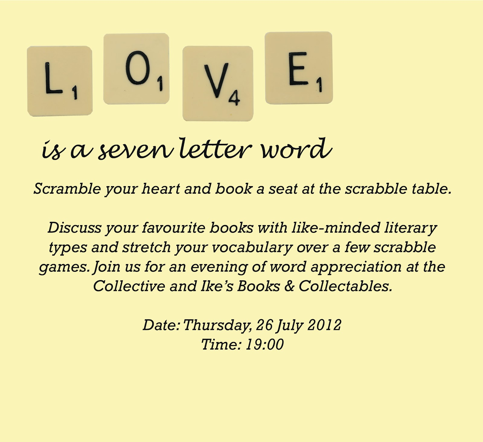 the COLLECTIVE: Love is a Seven Letter Word