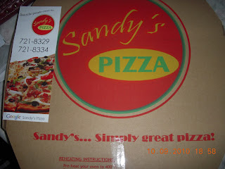 Sandy's pizza