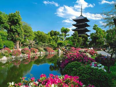 Japan Gardens stills