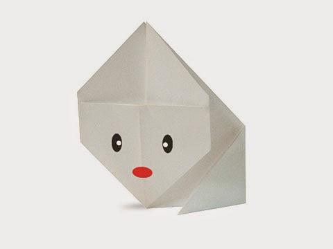 Hướng dẫn cách gấp con thỏ bằng giấy đơn giản - Xếp hình Origami với Video clip - How to make a Rabbit