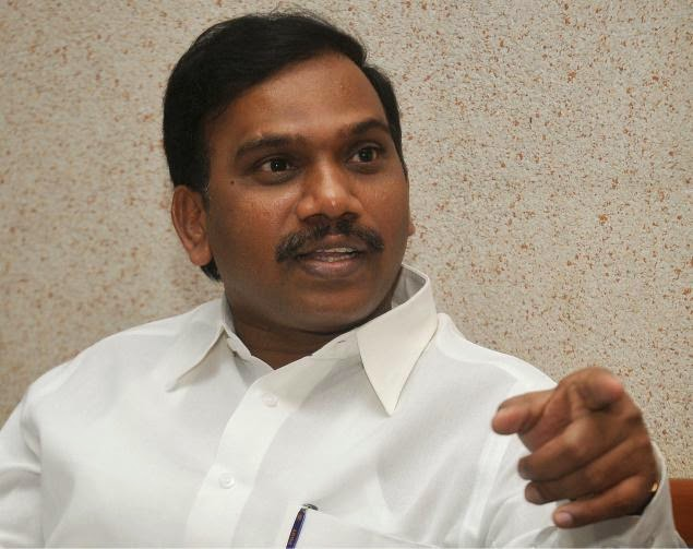 a raja assets value 3.61 crores only