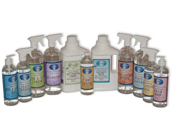 Meet The Baby Harmony Family of Eco Friendly Cleaning Products