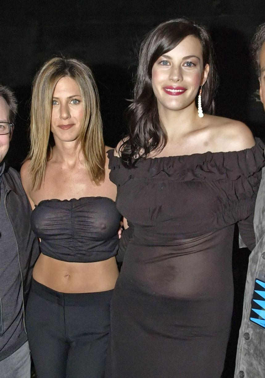 jennifer aniston see through