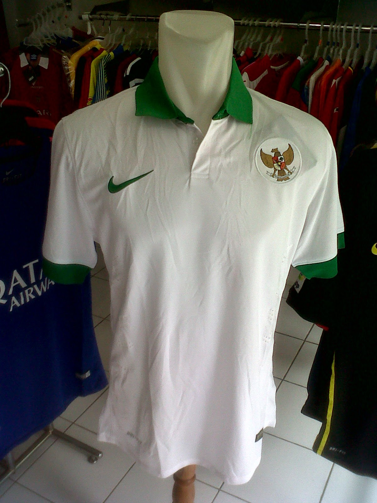 Jersey Timnas Indonesia Away AFF 2014