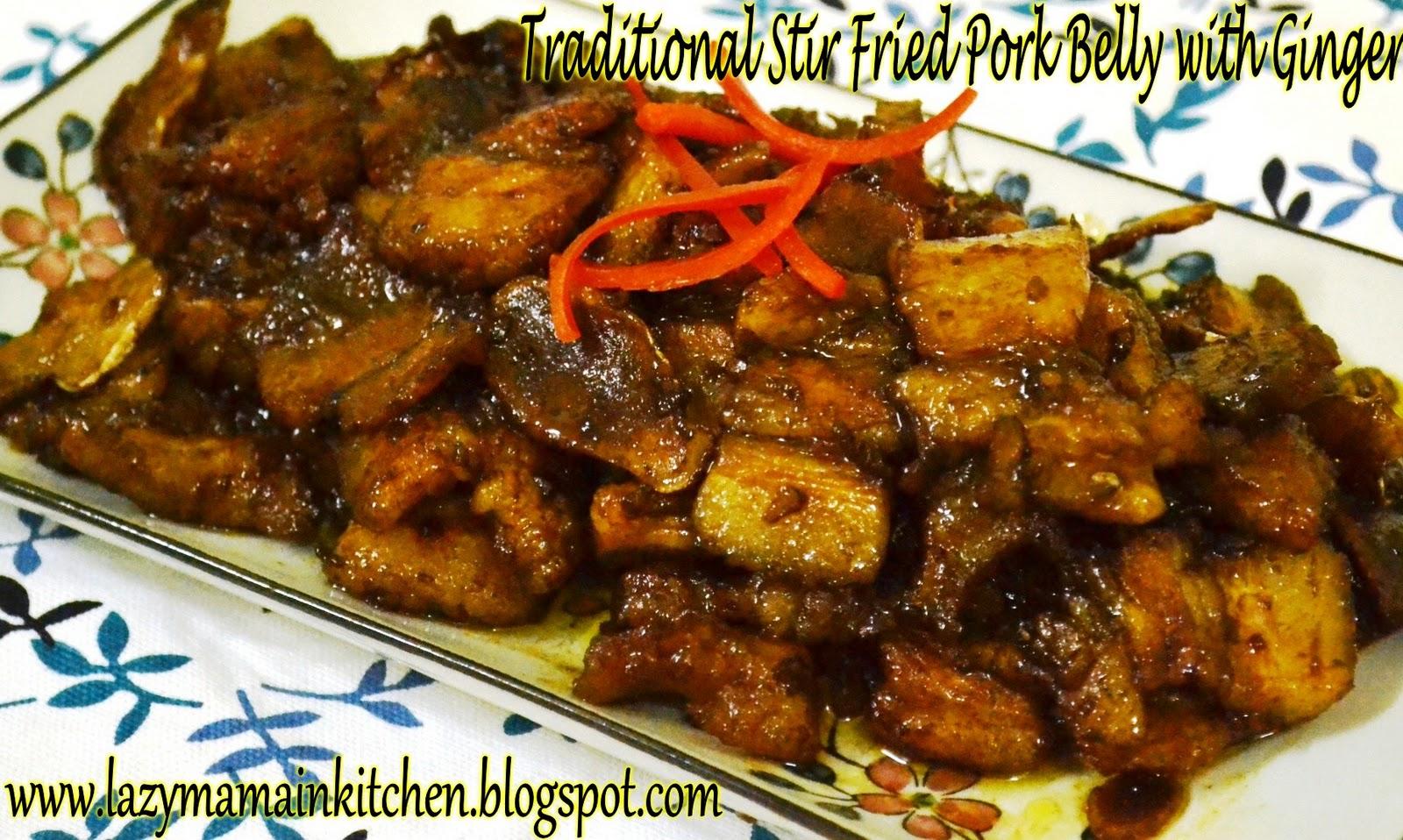 ... pork and peanut stir fry stir fry pork with ginger recipes dishmaps