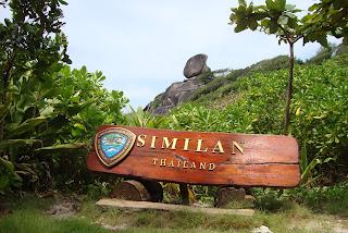 Similan Island Sail Rock
