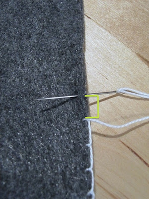 blanket stitch tutorial
