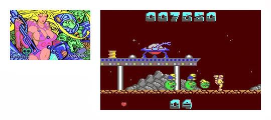 Phantis y GameOver C64