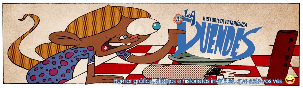Historieta Patagónica - La Duendes