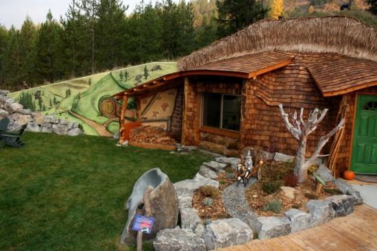 Al jese en una casa de hobbit real por 245 la noche - La casa de los hobbits ...