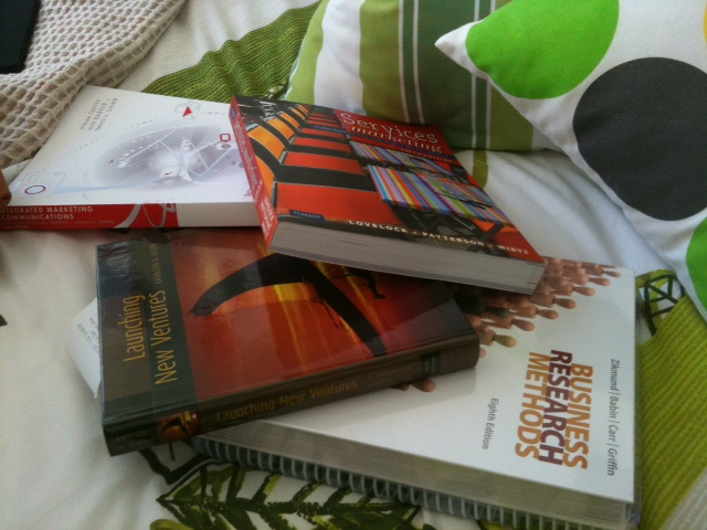 how to i find out textbooks for classes rmit