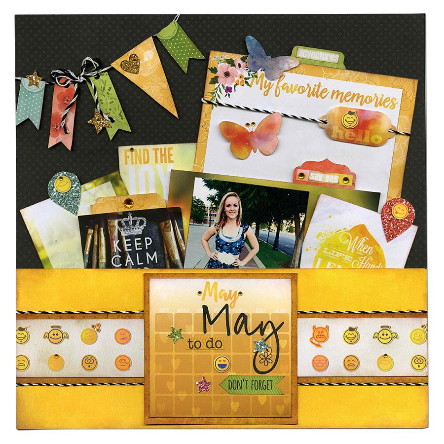 Calendar Girl May : Bobunny calendar girl layout