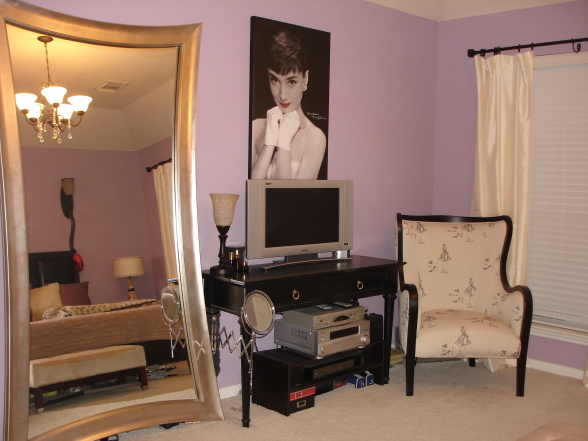 Old Hollywood Bedroom Design