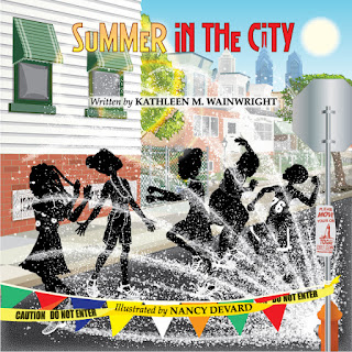 Author Kathleen Wainwright has published her first children's book, Summer in the City. Welcome to day 8 of her 10 day virtual tour!