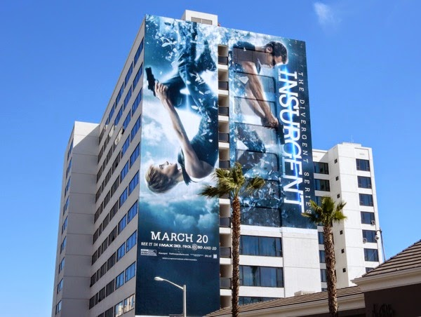 Giant Insurgent movie billboard