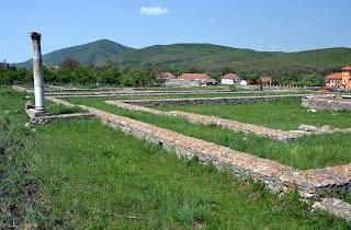 Ulpia Sarmisegetusa- Great Temple, the Temple of the god Silvanus