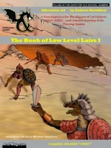 Free GM Resource: Book of Low Level Lairs Volume I