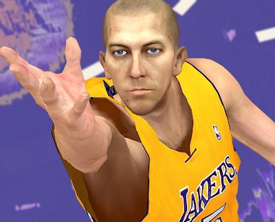 NBA 2K14 Steve Blake Cyberface Mod