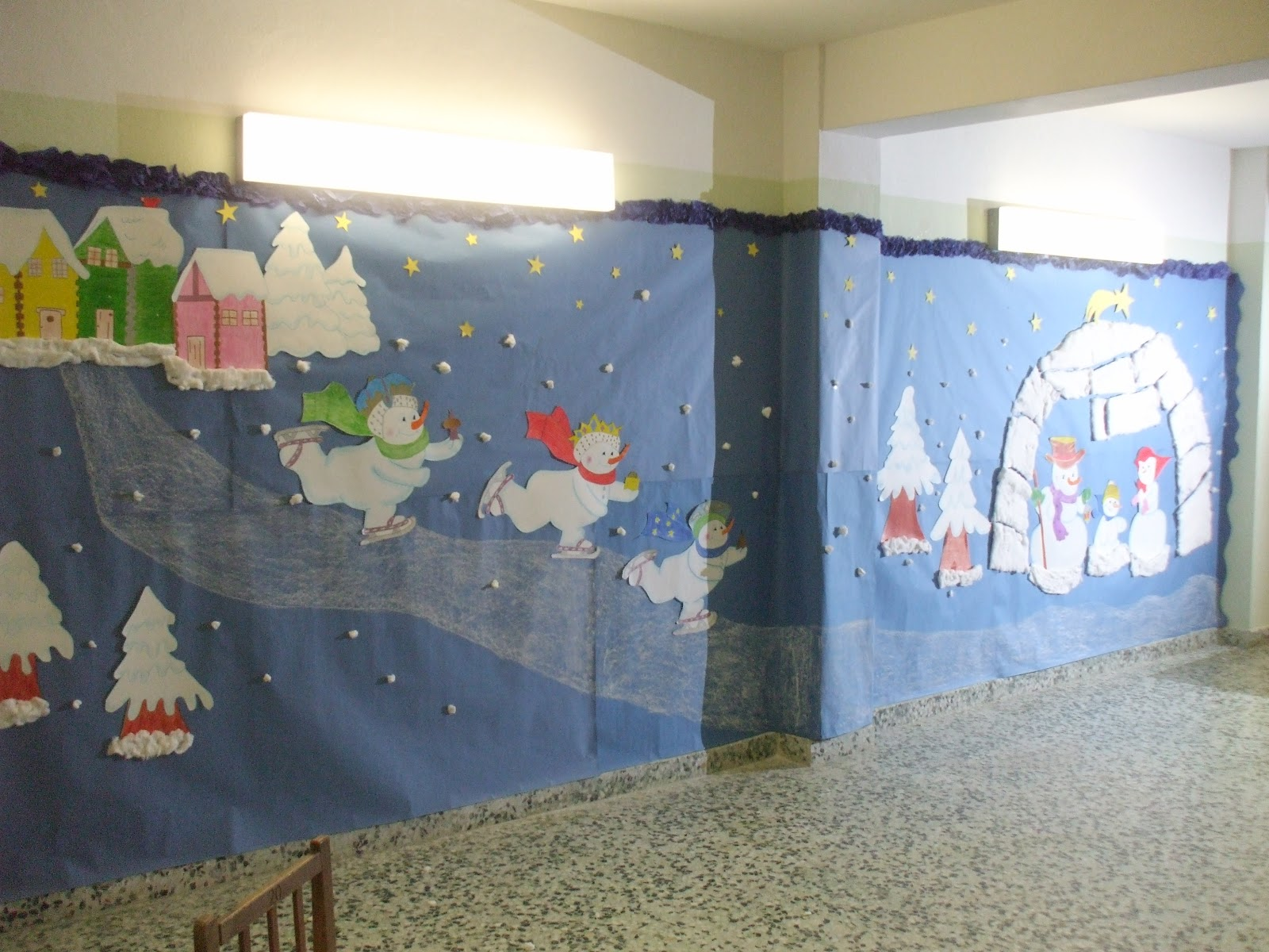 Uce capuchinas burlada navarra fotos mural navide o for Mural navideno