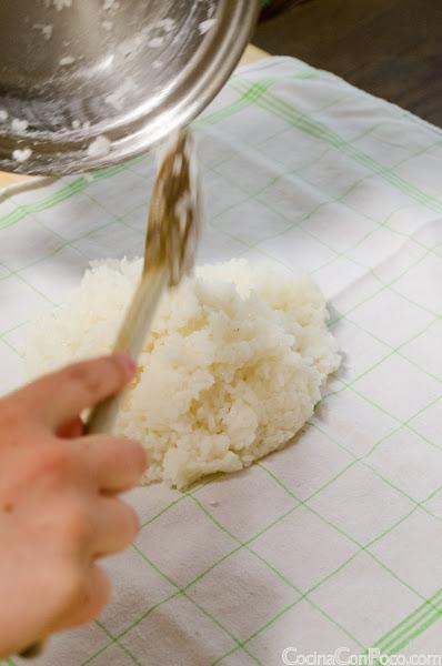 Como hacer arroz sushi paso a paso - Receta facil