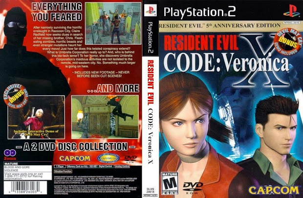 Download Resident Evil Code Veronica X PS2 ISO High Compressed