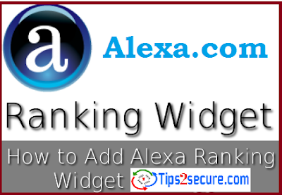 Add Alexa rank widget to websites