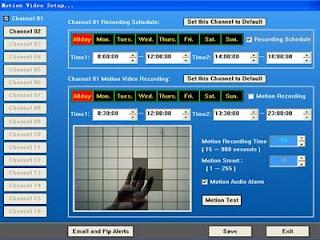 ดาวน์โหลดโปรแกรมฟรี   H264 WebCam Pro 3.64  เอากล้องเวบแคม มาทำเป็นกล้องวงจรปิด