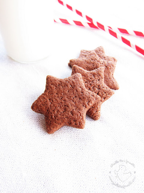 Biscotti al cacao - Chocolate Cookies