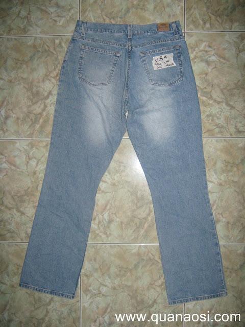 Quần jean nam hiệu BLUE wash xanh hàng SIDA 400k