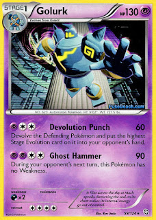 Golurk Dragons Exalted Pokemon Card