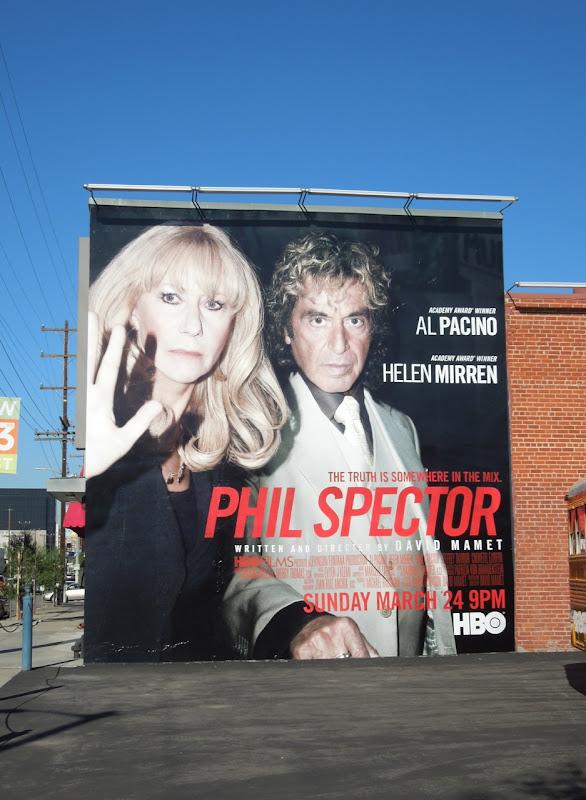 Phil Spector HBO film billboard