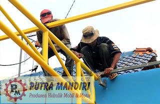 Pemasangan Kanoli Hidrolik Mobil