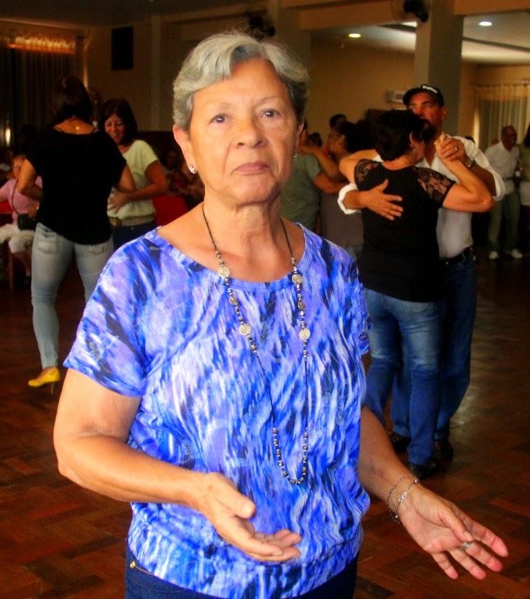 """""""São esses momentos felizes que fazem a vida melhor"""", disse dona Lourdes Peixoto"""