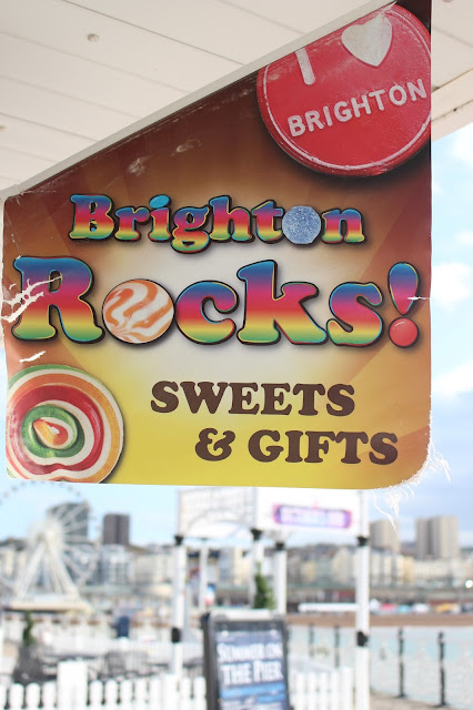Brighton rocks pier sweets and gifts