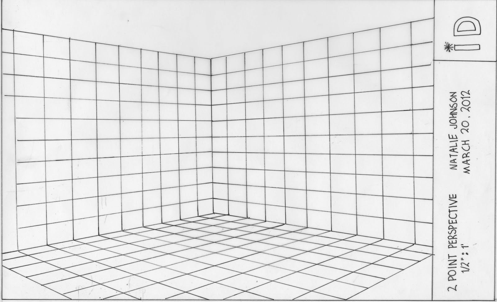 perspective drawing templates